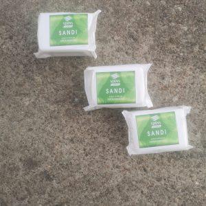 Naturalne mydło hipoalergiczne SANDI 100g